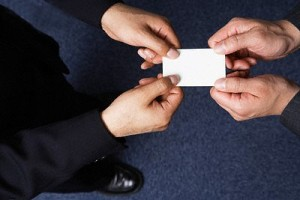 business card etiquette in asia