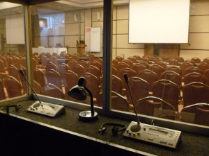 equipment for simultaneous interpretation